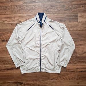 Windbreaker Glen Echo Tan Golf Jacket